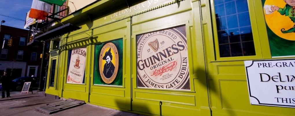 Come down to Delia Foley's Pub in Federal Hill